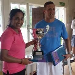 Khalique Cup Winners 2016 Rachana & Justin